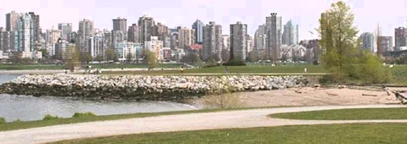 (Vancouver seen from Vanier Park)